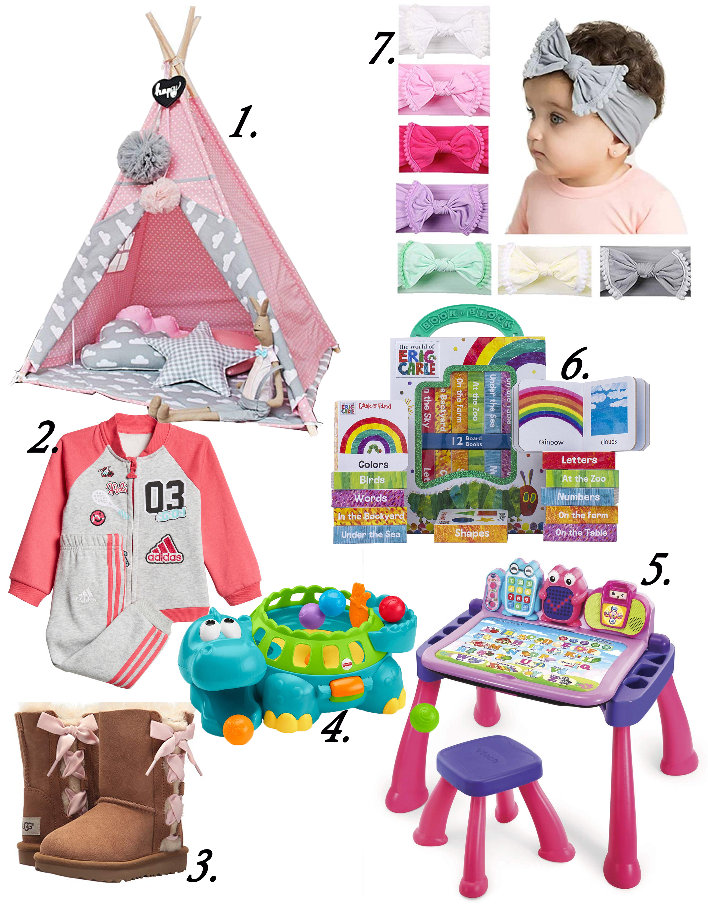 Toddler girl gift guide 2018